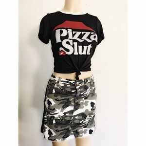 Tops - Pizza Slut Top